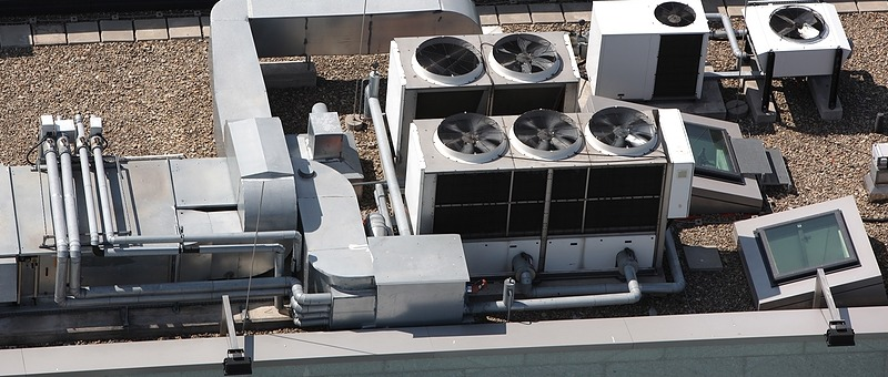 multiple HVAC roof system devices