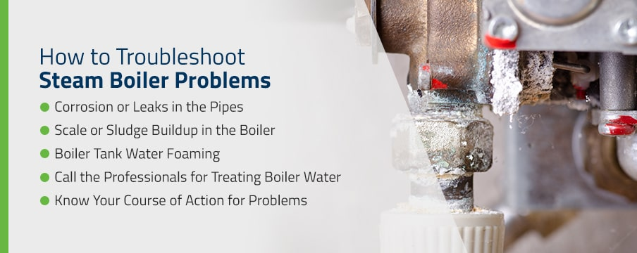 How to Troubleshoot Steam Boiler Problems