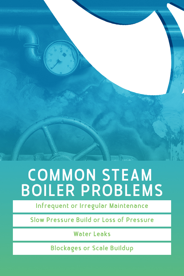 these are some of the issues you will face with steam boilers