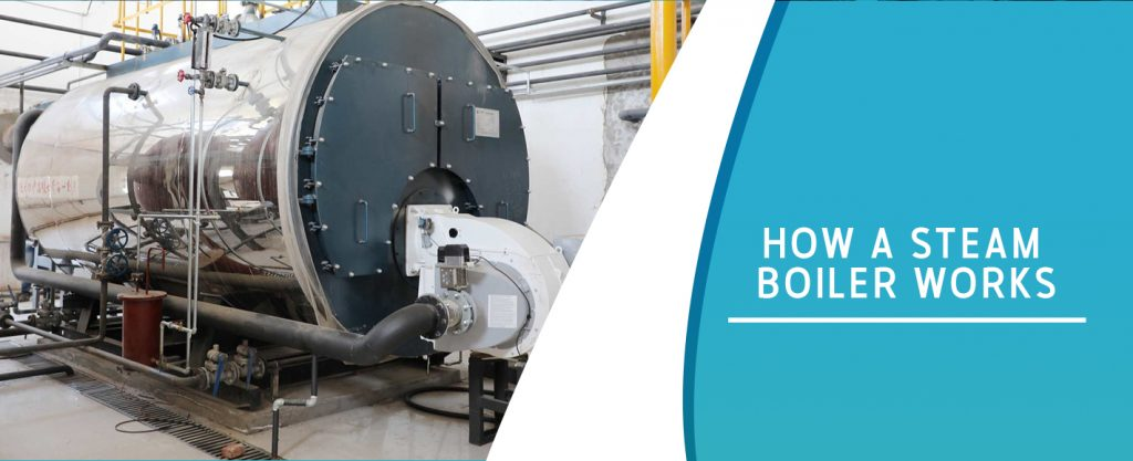 explanation of how a steam boiler works