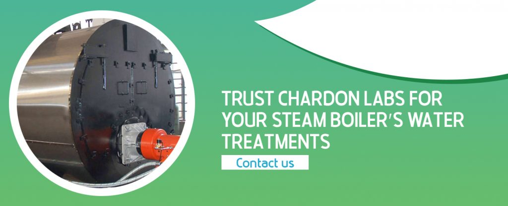 Chardons Labs is a commercial water treatment company that services steam boilers and other heating and cooling units