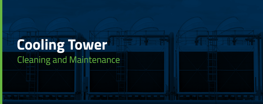 a guide to cooling tower cleaning and maintenance