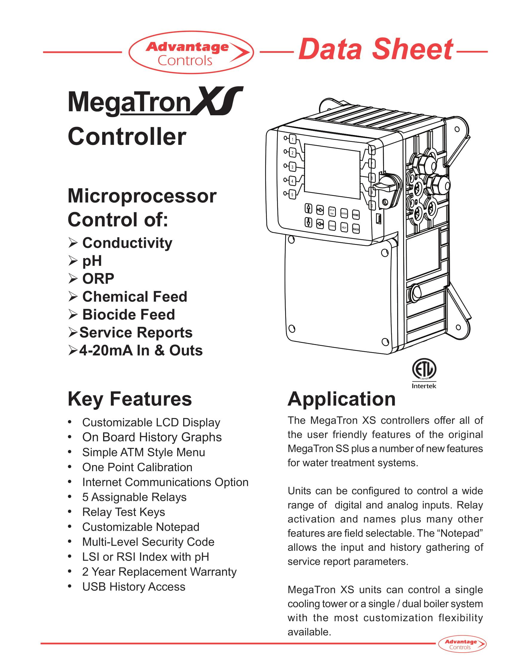 Advantage Megatron XS boiler controller