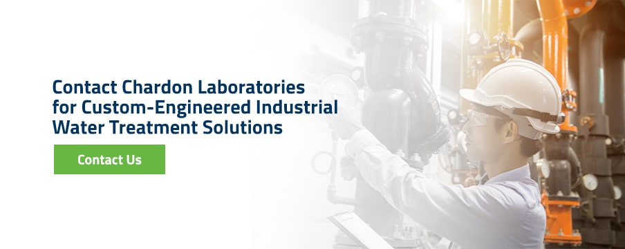 Contact Chardon Laboratories for Custom-Engineered Industrial Water Treatment Solutions